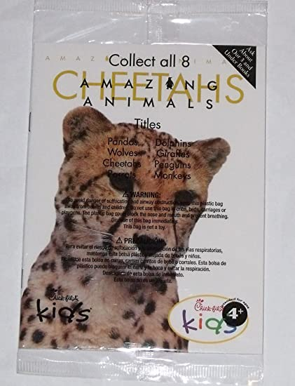 Amazon.com : Chick-fil-a Amazing Animals Book - Cheetahs ...