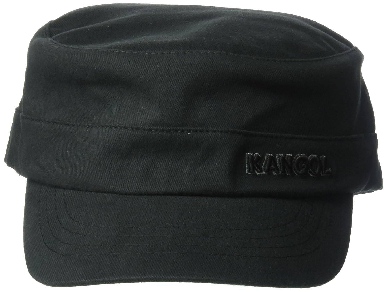 fc6d760ba6fd7e Amazon.com: Kangol Unisex-Adult's Flexfit Army Cap, Black XXL: Clothing