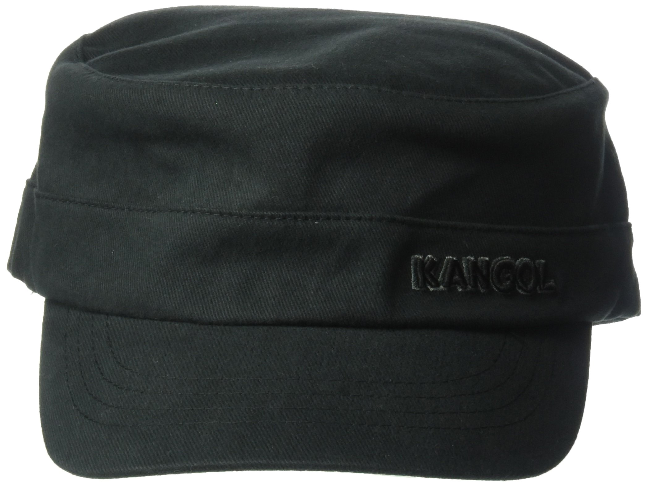 Kangol Cotton Twill Army Cap Hat, black, XXL