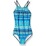 Amazon Price History for:Kanu Surf Girls' Mahina Halter Beach Sport 1-Piece Swimsuit