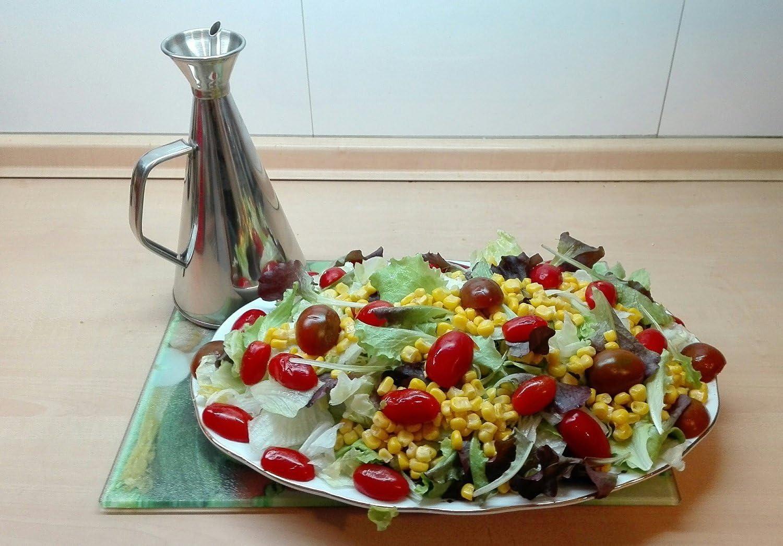 250 ml PRICEKILLER/® Oliera Salvagoccia in Acciaio Inossidabile Moderna Inox da 250 ml o 750 ml
