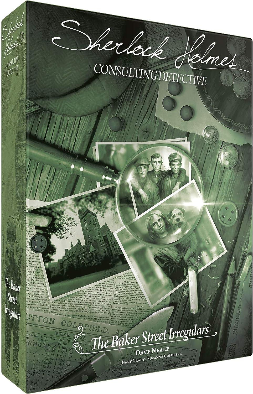 Asmod¨¦e Sherlock Holmes: Consulting Detective - Baker Street Irregulars: Amazon.es: Juguetes y juegos
