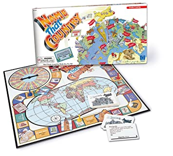 Amazoncom Educational Insights Name That Country Game Toys Games - Countries and capitals game