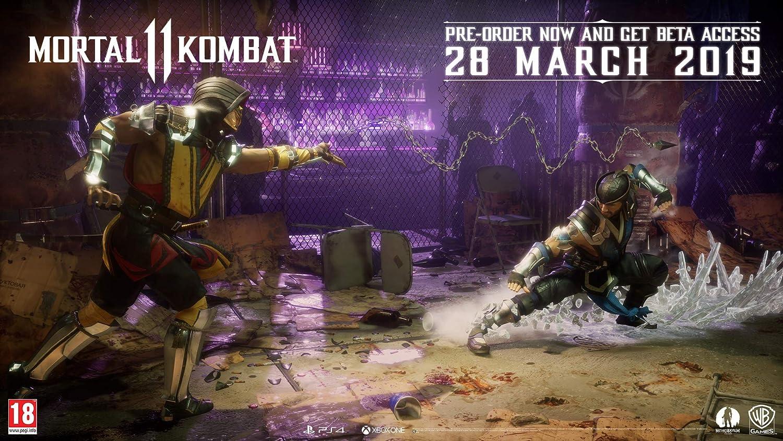Mortal Kombat 11 - PlayStation 4 [Importación inglesa]: Amazon.es: Videojuegos