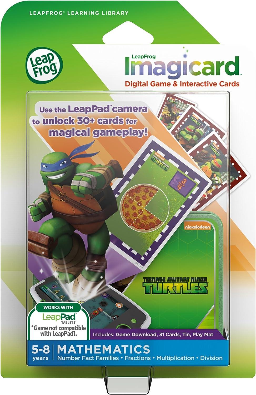 LeapFrog Teenage Mutant Ninja Turtles Imagicard Learning Game (Works With: LeapPad Platinum, LeapPad Ultra, LeapPad2, LeapPad3)