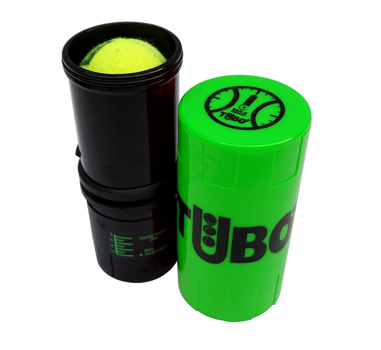 TUBOPLUS Tube à air comprimé pour Balles de Padel et de Tennis, Vert Fluo