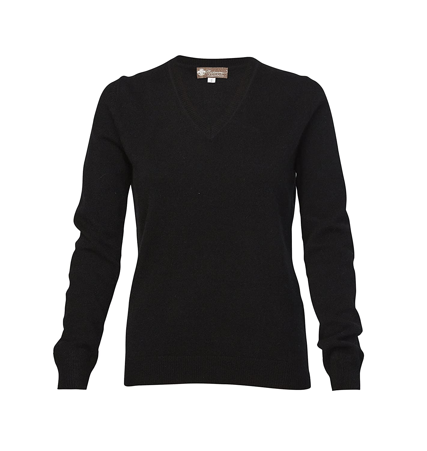 Women's Cashmere V-Neck Sweater at Amazon Women's Clothing store ...