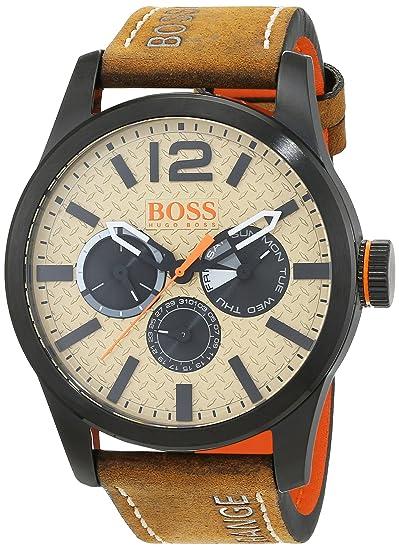 1fe0e3568a37 Reloj de pulsera analógico Hugo Boss Orange para Hombre