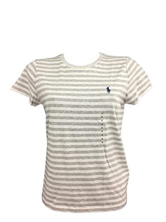 753b1d8741fe Ralph Lauren Damen Poloshirt, Einfarbig, Mehrfarbig  Amazon.de ...