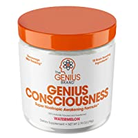 Genius Consciousness - Super Nootropic Brain Booster Supplement - Enhance Focus,...