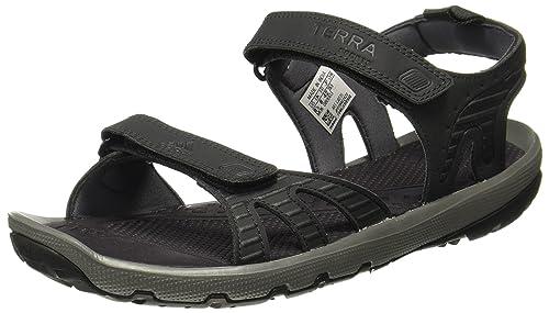 cbed37333 Adidas Men s Terra Sports 17 Carbon Grefiv Sandals-10 UK India (44 2 ...