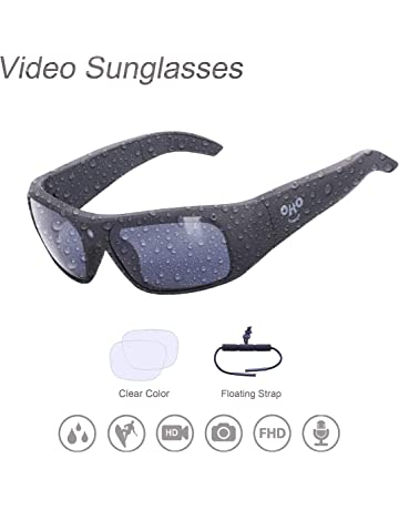 57ae1256f1bc OHO sunshine Waterproof Video Sunglasses