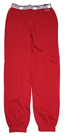 f393cc39204298 Hollister Women's High-Rise Oversized Fit Boyfriend Sweatpants HOW-19  (Large, 0231-500) at Amazon Women's Clothing store: