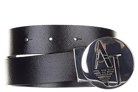 Armani Jeans ceinture femme en cuir raccourcie blu EU 85 921009 6A302 31835 6175b0d0abb