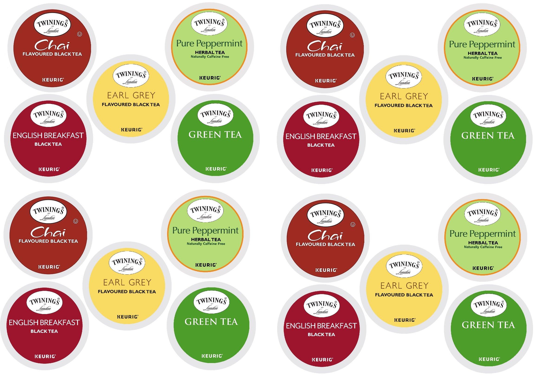 Twinings Tea Variety Sampler Keurig K-Cups, 20 Count by Twinings