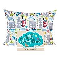 Little Sleepy Head Toddler Pillowcase - Cars, 13 x 18 Inch
