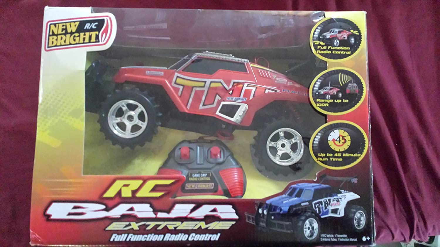 New Bright Pro Dirt Baja Extreme Tnt Rc Car Toys Games