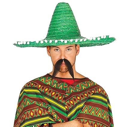 Guirca 13657 - Sombrero Mexicano Paja 60 Cms. Verde  Amazon.es ... 080be5bce2b