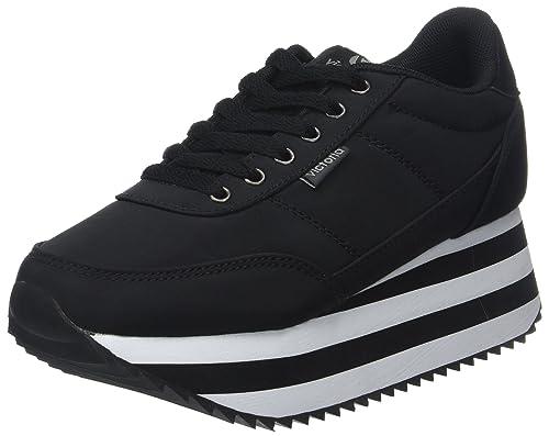 Victoria Deportivo Raso Plataforma, Zapatillas Unisex Adulto: Amazon.es: Zapatos y complementos