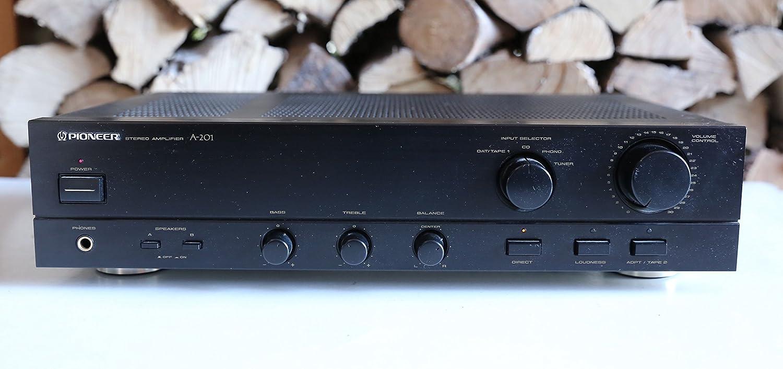 Pioneer A 201 Verstärker Stereo Schwarz Audio Hifi