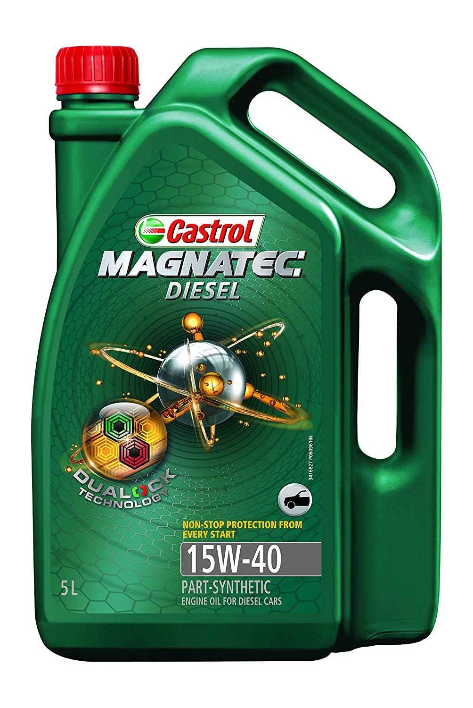 Castrol Magnatec Diesel 15w 40 Api Sn Part Synthetic Engine Oil For Hyundai 3 5l Parts Breakdown Cars 5 L Car Motorbike