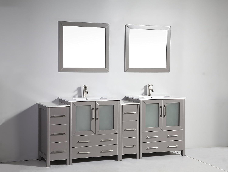 Vanity Art 12 inch Vanity Cabinet VA3030-12-W