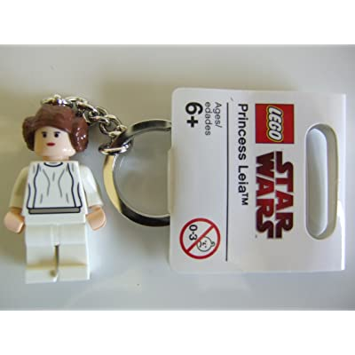 LEGO Star Wars Princess Leia Keychain: Toys & Games