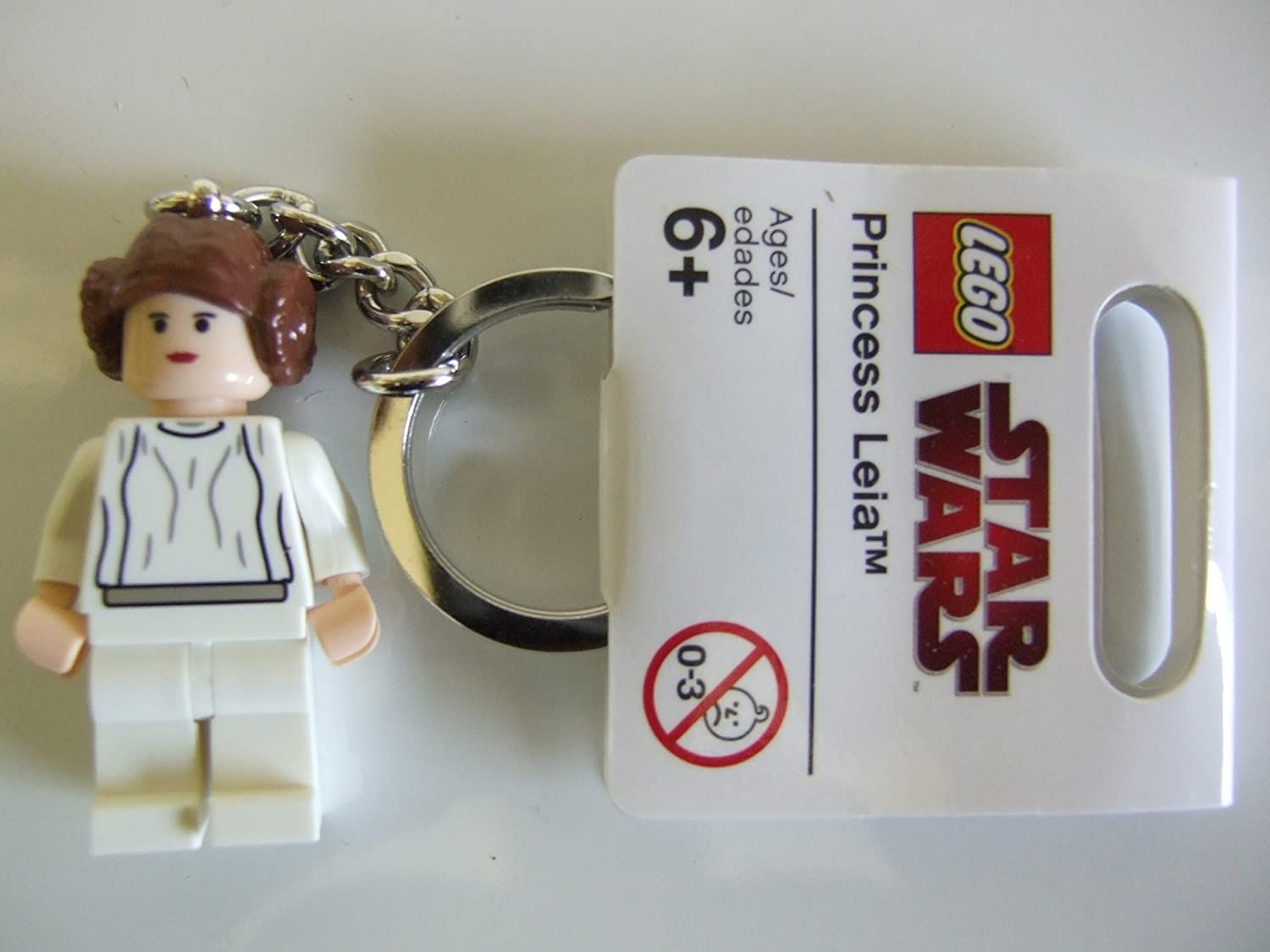 LEGO Star Wars Princess Leia Keychain