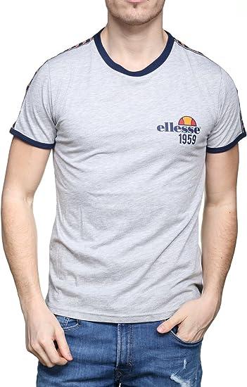 T shirt Ellesse Homme Bande Gris | FootKorner