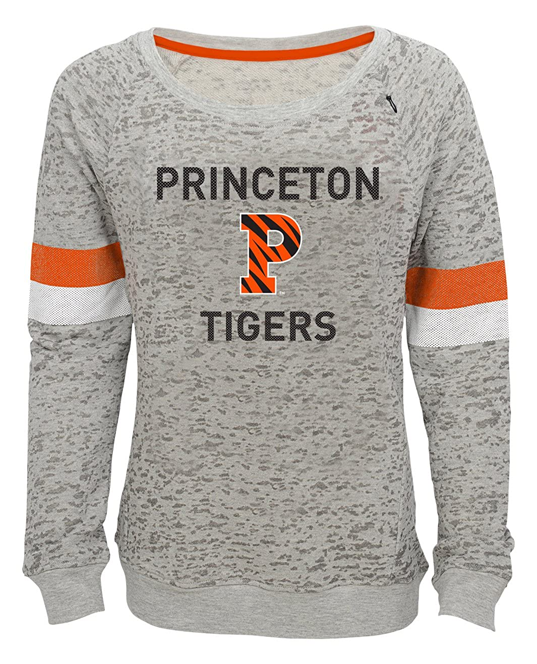 7-8 Youth Small NCAA by Outerstuff NCAA Princeton Tigers Youth Girls My City Boat Neck Pullover Heather Grey