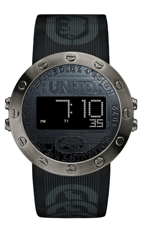 Marc Ecko Reloj Análogo clásico para Hombre de Cuarzo con Correa en Cuero E16080G1