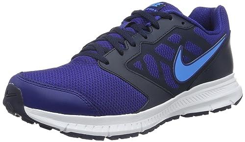 check out 8af2d 6b594 Nike Men s Downshifter 6 Running Shoe Dp Ryl Blue Bl Glw Obsdn White 11 D