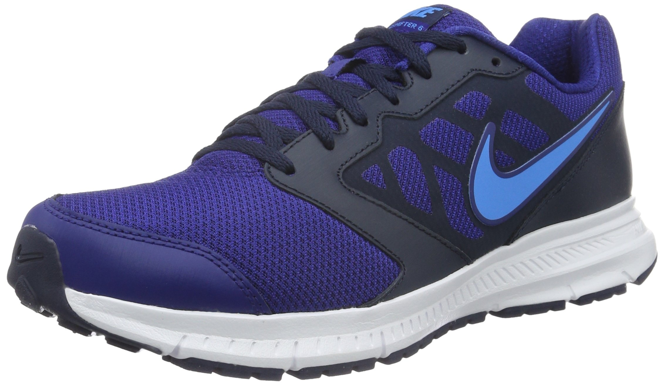 9bae7832390ce NIKE Mens Downshifter 6 Running Shoes, Deep Royal Blue Size 13 M US