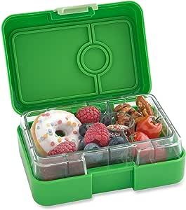 Yumbox MiniSnack Leakproof Snack Box (Cilantro Green) - Small Size