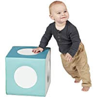 ECR4Kids SoftZone Mirror Foam Cube, Soft Sensory Toy for Infants and Babies, Toddler Active Play and Self-Discovery…