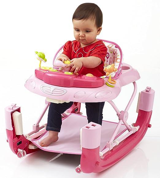 Caminador para bebé Walk-n-Rock de la marca My Child rosa Talla ...