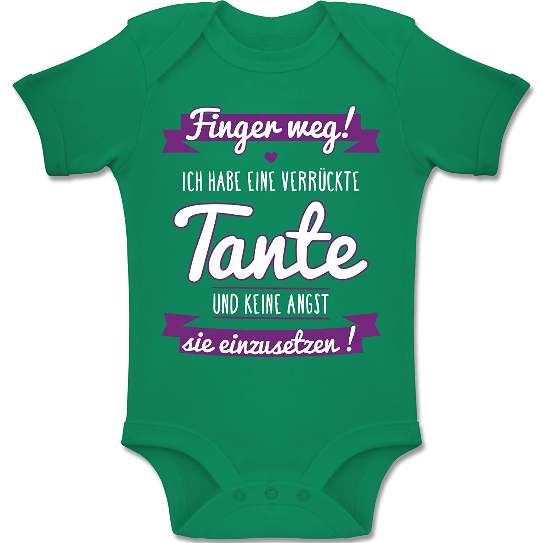 Shirtracer Sprüche Baby - Ich Habe Eine verrückte Tante Lila - 1-3 ...