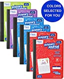 Mead Primary Journal Kindergarten Writing Tablet 6 Pack of Primary Composition Notebook Colors May Vary For Grades K- 2…