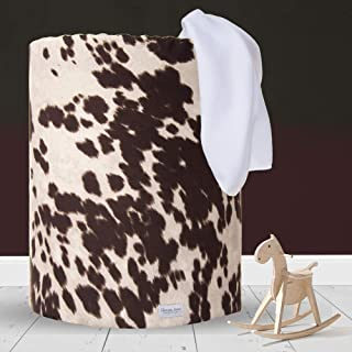 """product image for Glenna Jean Hamper, Cow, Brown, 17"""" x 17"""" x 23"""""""