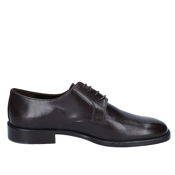 ANTONIO RUFO Zapatos Elegantes Hombre Marrón Cuero AJ594 (43 EU) gc9VZG