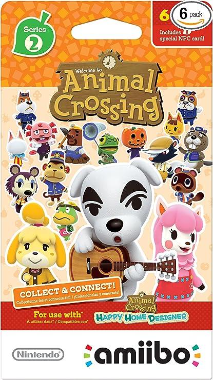 Amazon.com: Nintendo Animal Crossing Cards - Juego de 6 ...