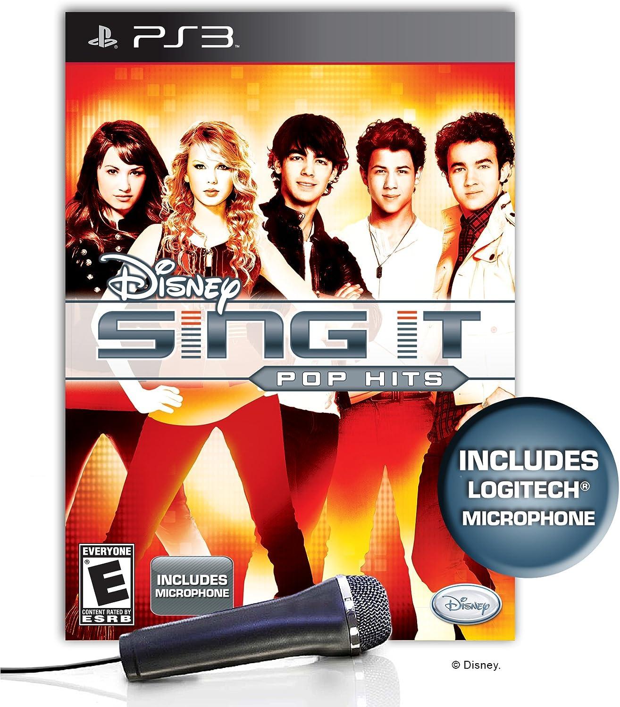 Amazon.com: Disney Sing It: Pop Hits Bundle - Playstation 3 ...