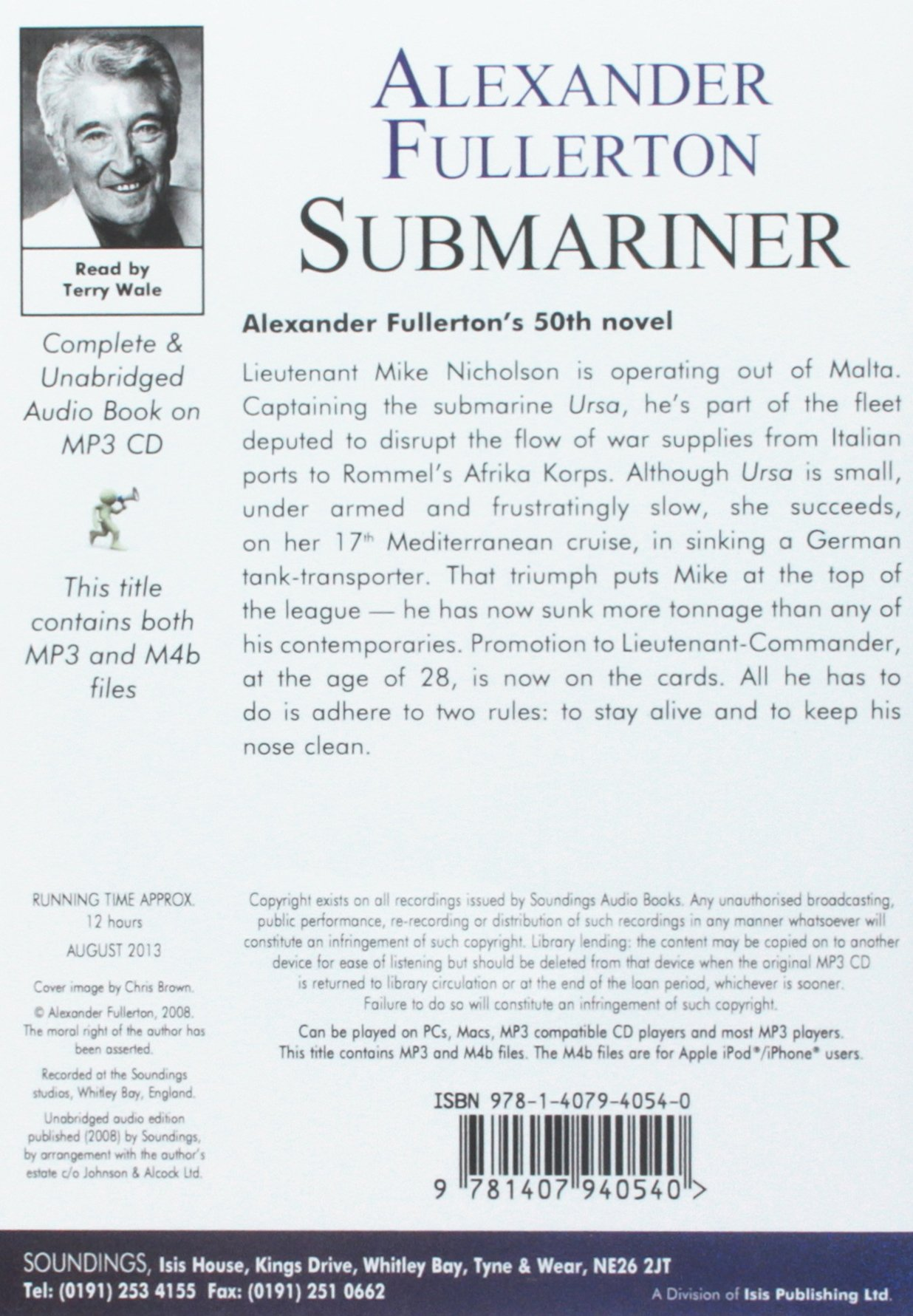 Submariner: Amazon.es: Alexander Fullerton, Terry Wale: Libros en ...