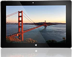 "10"" Windows 10 Fusion5 Ultra Slim Windows Tablet PC- (4GB RAM, 128GB Storage, USB 3.0, Intel, 5MP and 2MP Cameras, Windows 10 S Tablet PC) (128GB)"