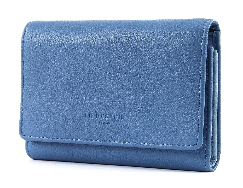 LIEBESKIND BERLIN Vintage PiperF8 Geldbörse Denim Blue Blau Neu