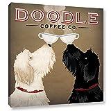 ArtWall Ryan Fowler's Doodle Coffee Double IV
