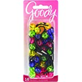 Goody Girls Mosaic Twinbead Ponytailer, 16 Count