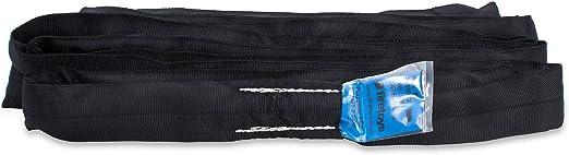 2 Tonnen Schwarz mehrere Spanset Gr/ö/ßen EWL verf/ügbar Firetoys Polyester Lifting Strop Arbeitslastgrenze f/ür Rundschlinge