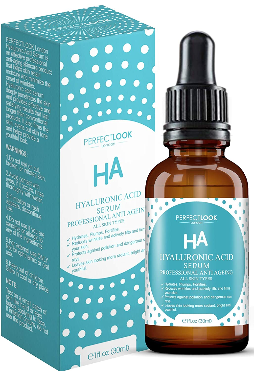 Hyaluronic Acid Serum Anti Ageing Professional With B5 Perfect Look