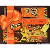 REESE Lovers Chocolate Peanut Butter Assorted Gift Box, Pack of 7